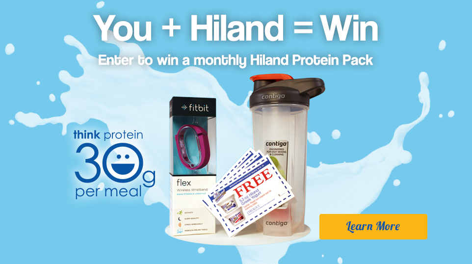 Enter to win a monthly prize!