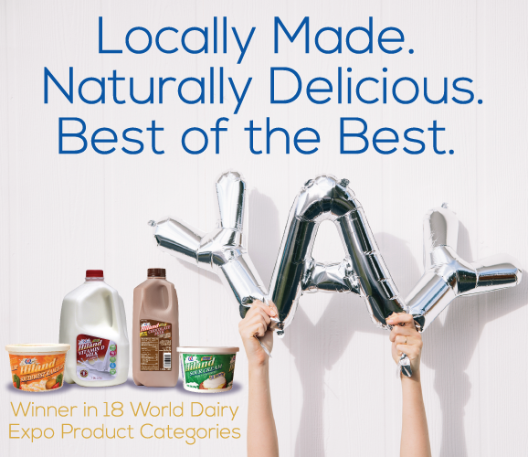 Winner in 18 World Dairy Expo Product Categories