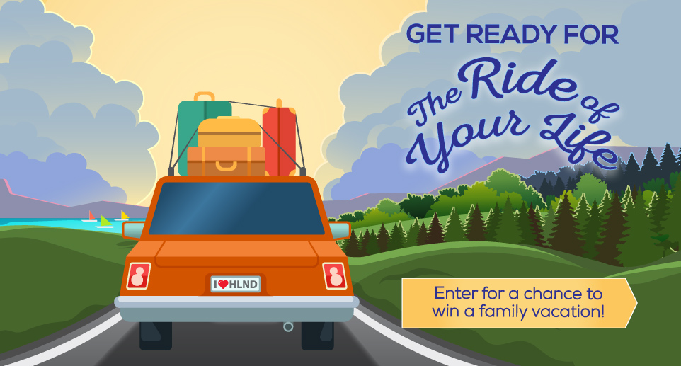 Enter to Win a Family Vacation