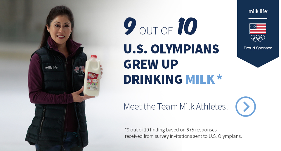 Meet The Team Milk Athletes