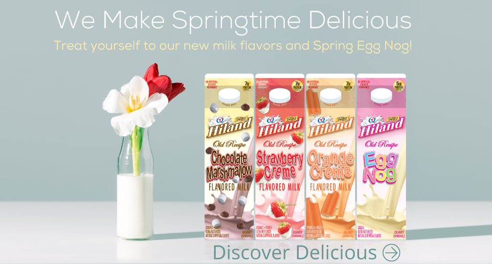 New Spring Milks Available Now