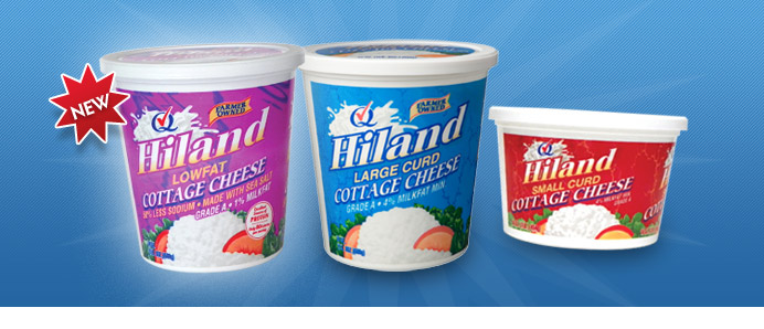 hiland dairy products cottage cheese rh hilanddairy com soy free vegan cottage cheese soy free vegan cottage cheese recipe