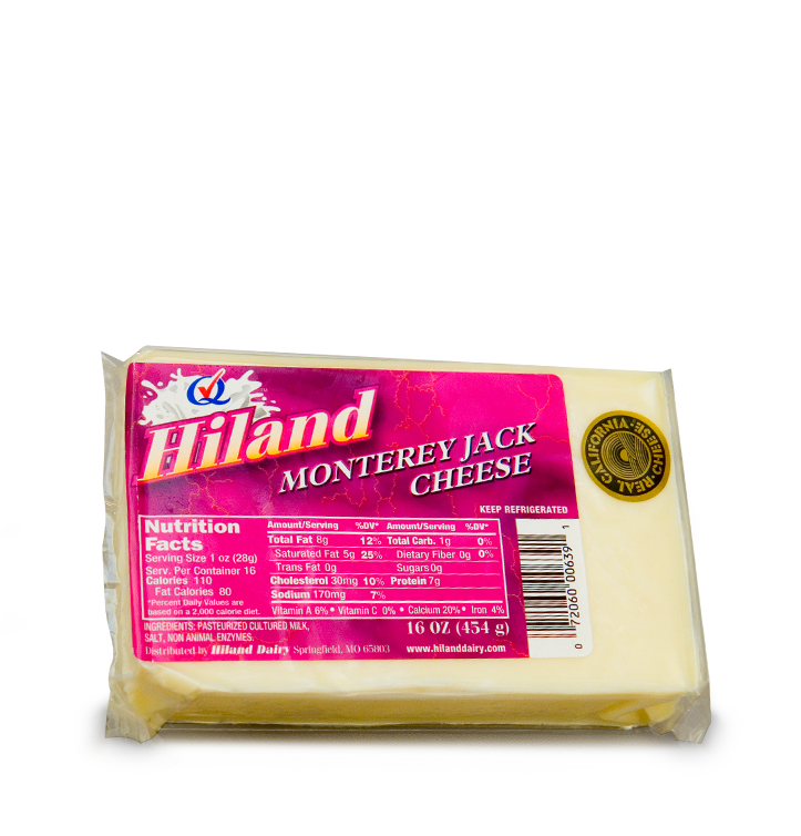 Hiland Dairy | Products | Cheeses